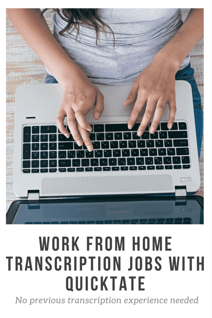 Work From Home Transcription Jobs with Quicktate