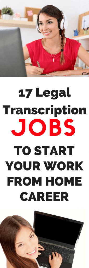 legal jobs work from home 17 legal transcription jobs to start your own work from 3844