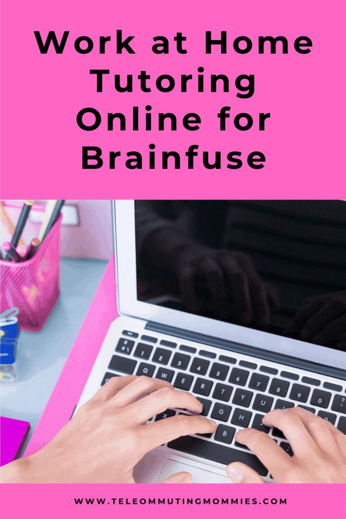 work at home tutoring online