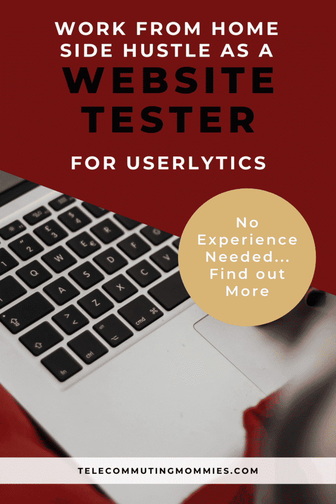 work from home website testers