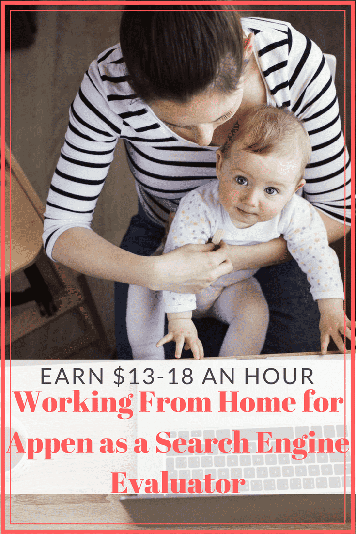 Work from home as an internet search engine evaluator