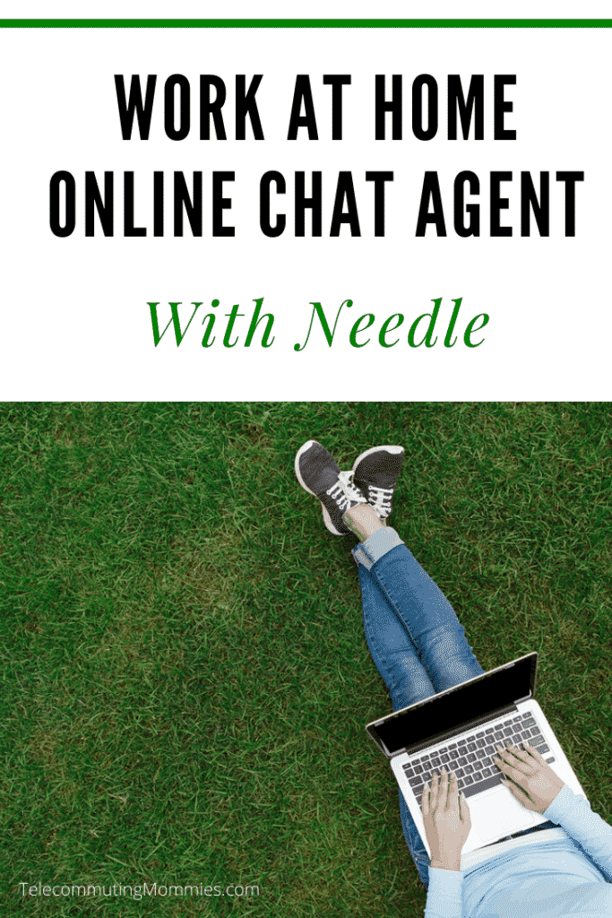 work at home online chat agent