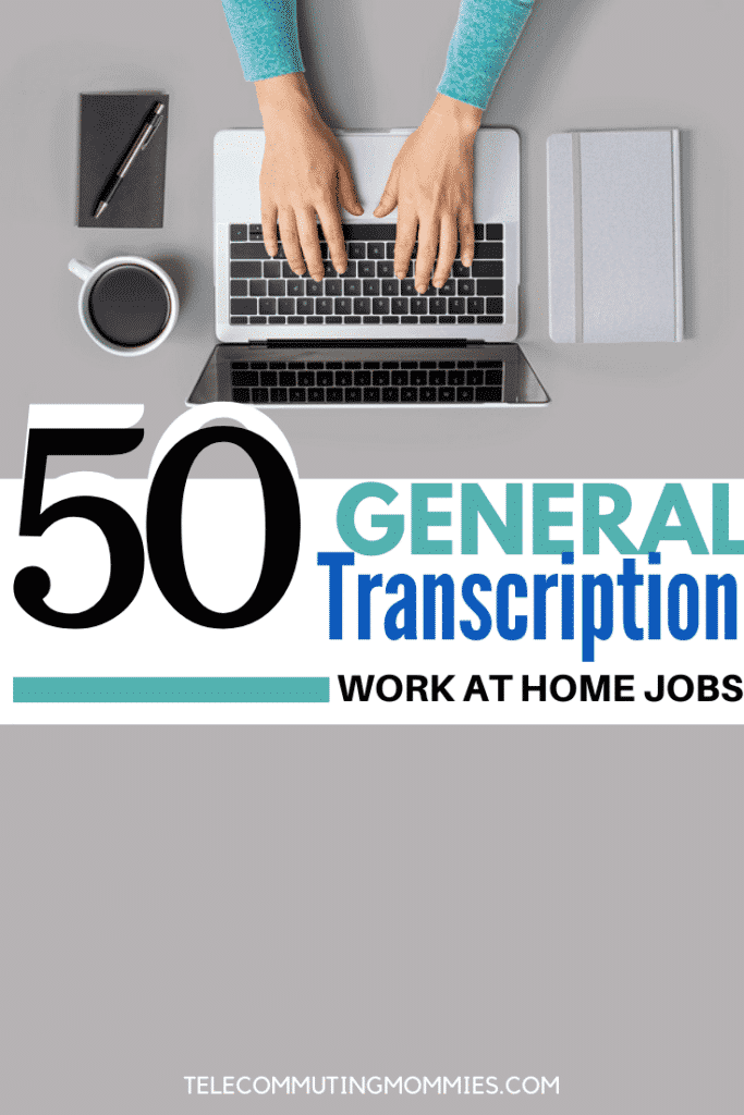 general transcription jobs