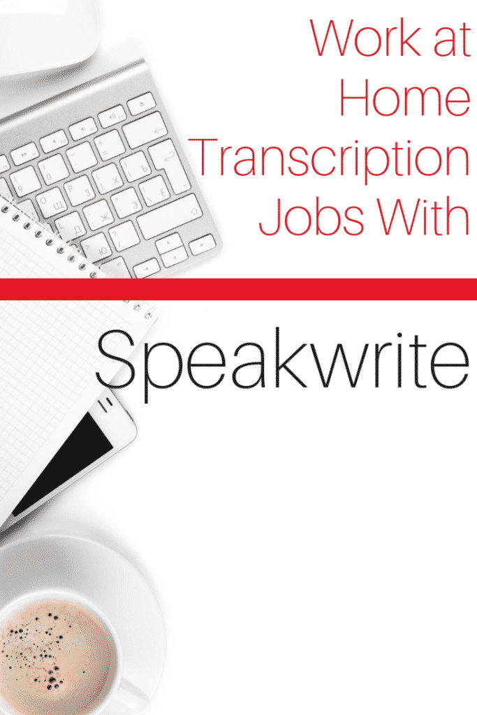 Transcription From Home Jobs Working for Speakwrite