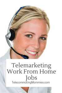 Telemarketing work from home companies