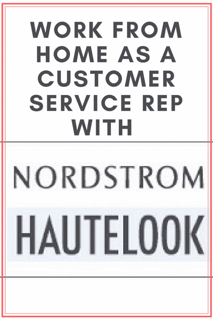 Nordstrom Hiring Work From Home Representatives
