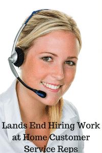 lands end work at home