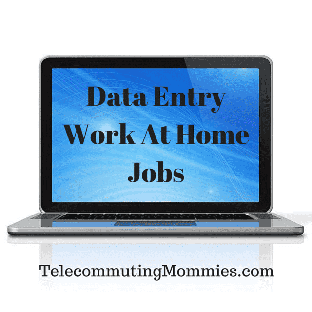 Data Entry Work From Home Companies