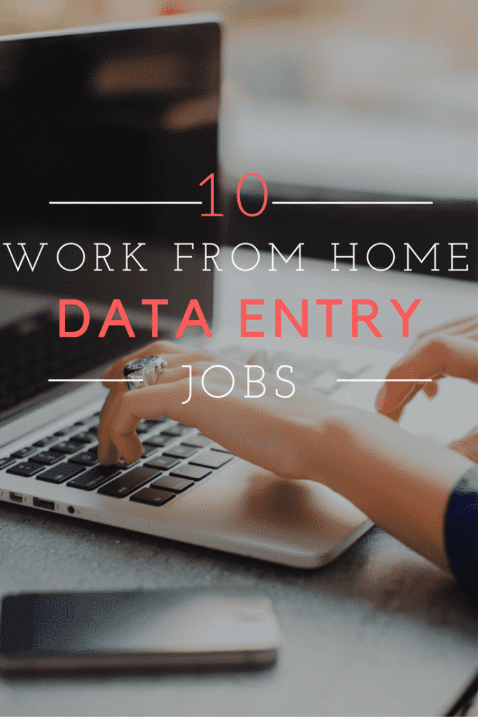 Data Entry Work from Home Jobs