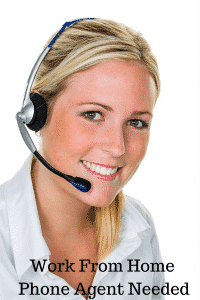 work from home phone agent