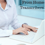 Work From Home Transcribers Needed