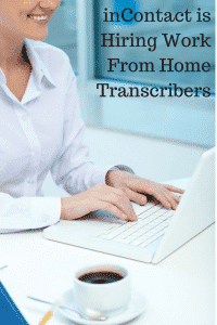 work from home transcribers