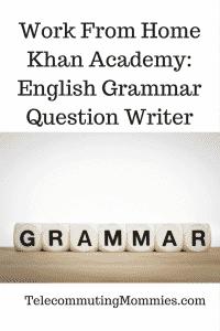 work from home khan academy