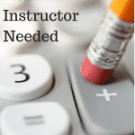 Online Math Instructor Needed