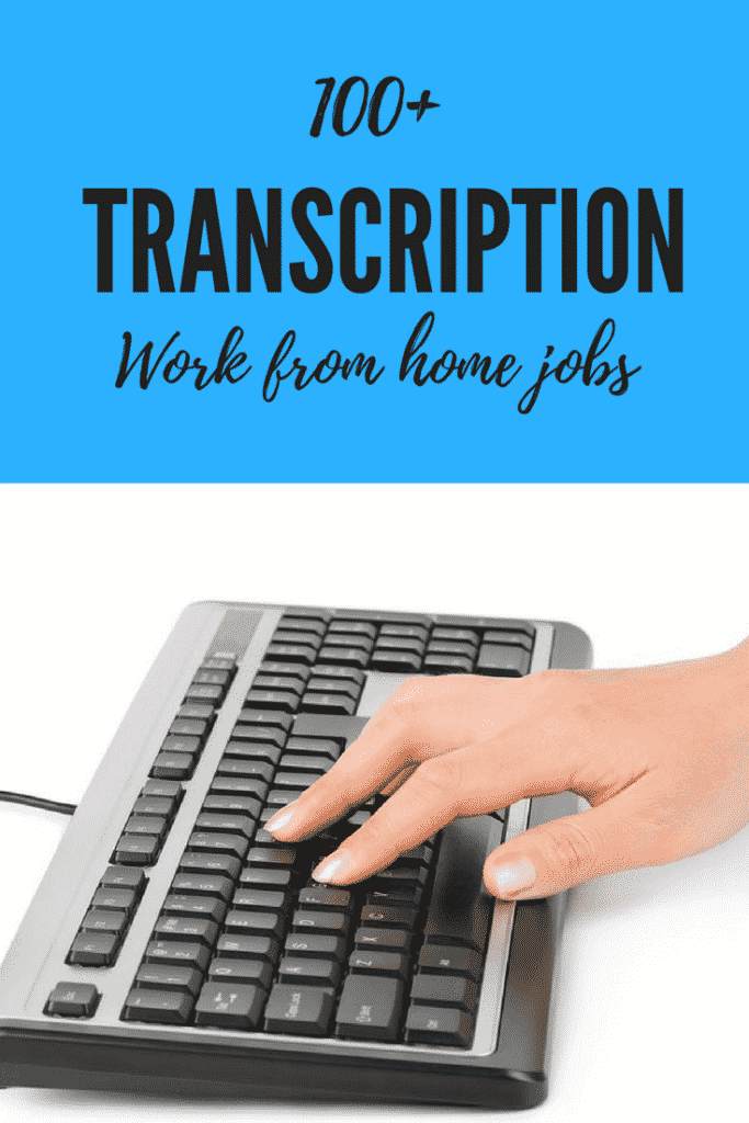 Transcription Work From Home Jobs