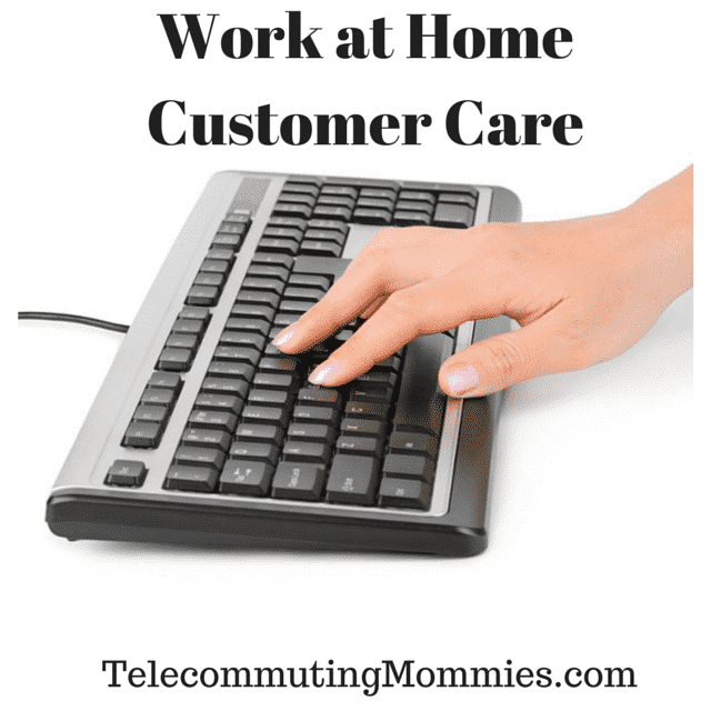 work at home customer care