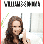 Customer Service Work at Home With Williams Sonoma