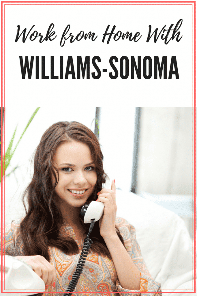 Work At Home With Williams-Sonoma