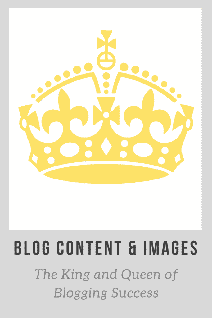Blog Content & Images: King and Queen of Blogging Success