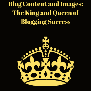 blog content and images