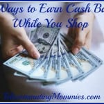 5 Ways to Earn Cash Back While You Shop
