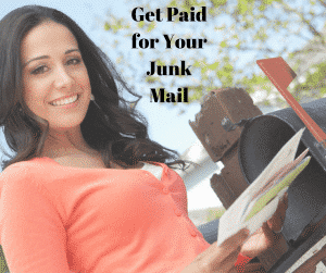 get paid for your junk mail