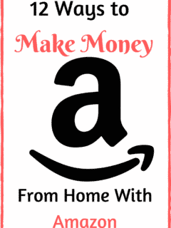 make money from home with Amazon