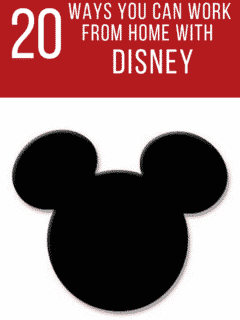 How to Work For Disney From Home