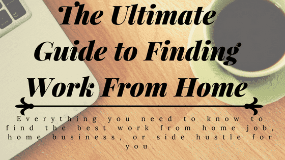 Guide to Finding Work From Home