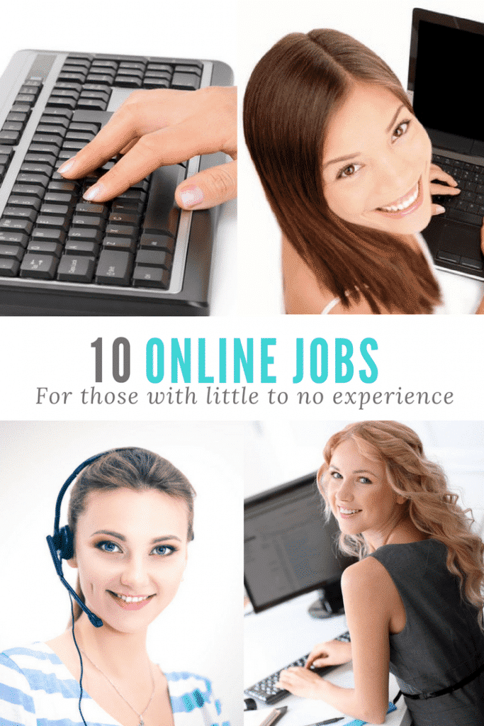 online jobs no experience