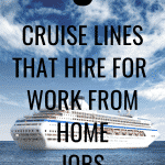Cruise Line Careers That Make the Perfect Work From Home Job