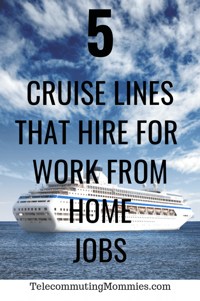 5 Cruise Line Careers You Can Do From Home