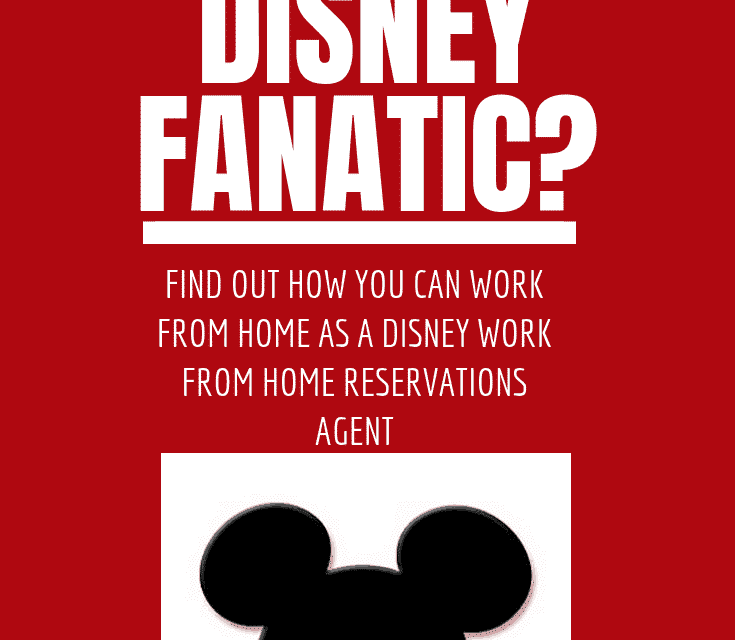 Disney Work From Home Reservations