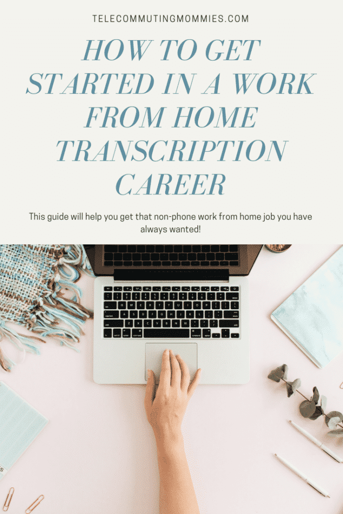Find out all the ways you get a transcription work from home job