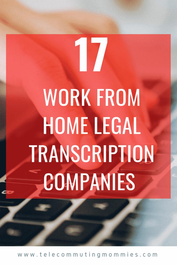 Legal Transcription Jobs