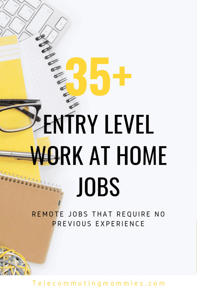 entry level remote jobs