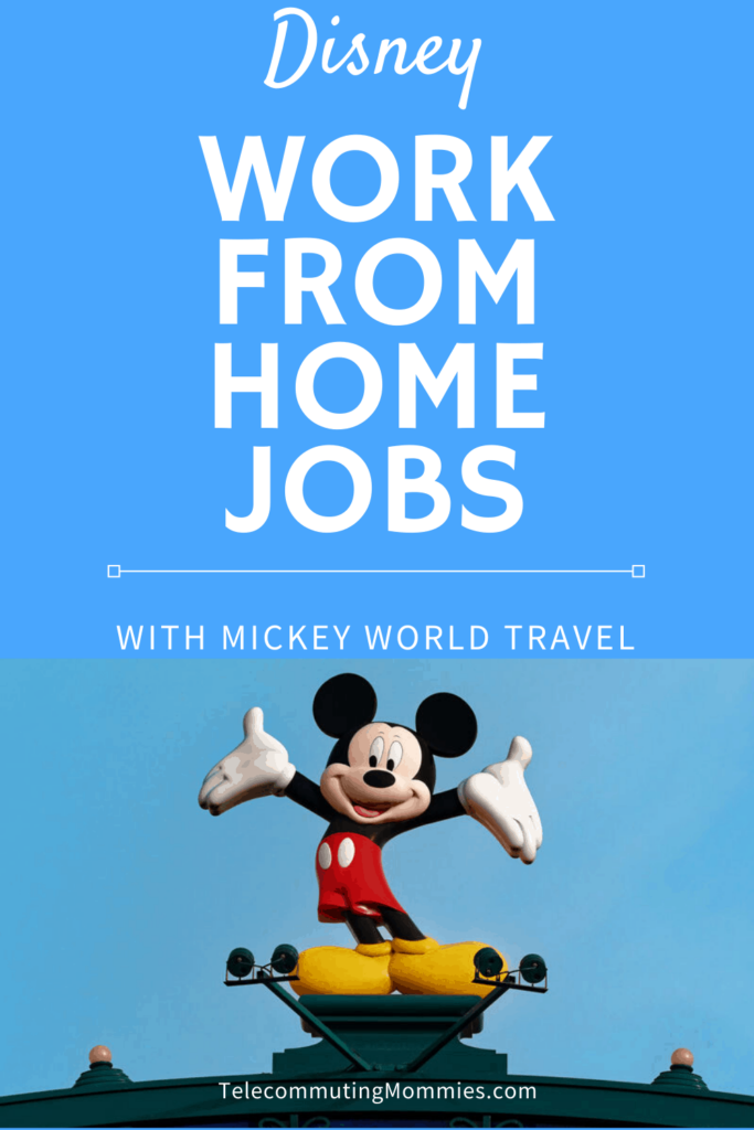 Disney Work From Home Jobs